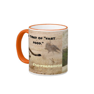 """Je suis fatigué """"des aliments de préparation rapid mugs à café"""