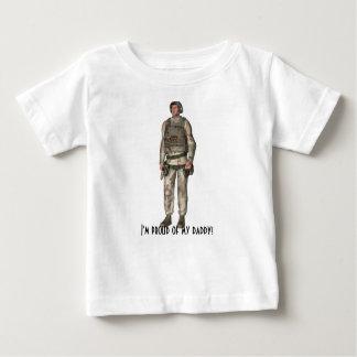 """""""Je suis fier de mon papa ! T-shirt Pour Bébé"""