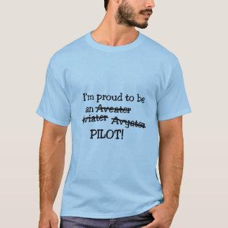 """""""Je suis fier d'être le T-shirt des hommes d'un"""