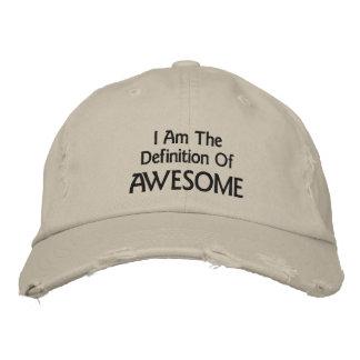 Je suis impressionnant casquette brodée
