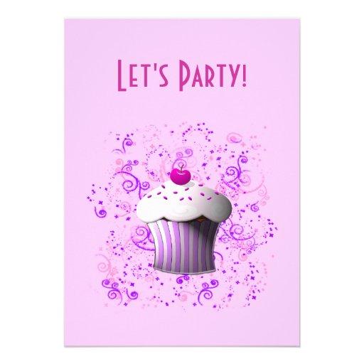 Je suis invitation douce de petit gâteau