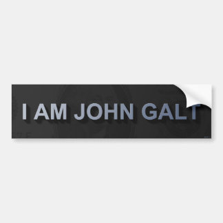 Je suis John Galt Autocollant De Voiture