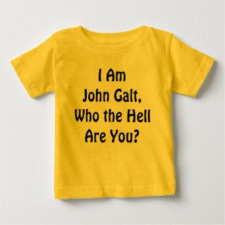 Je suis John Galt, qui sont vous ? T-shirt Pour Bébé