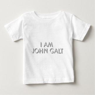 JE SUIS JOHN GALT T-SHIRT POUR BÉBÉ