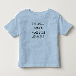 Je suis juste ici pour le T-shirt d'enfant en bas