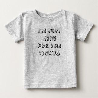 Je suis juste ici pour le T-shirt infantile de