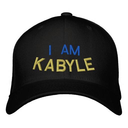 Je suis Kabyle Casquettes De Baseball Brodées