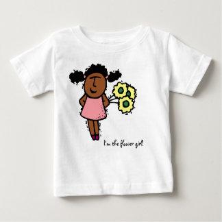 Je suis la demoiselle de honneur ! t-shirt pour bébé
