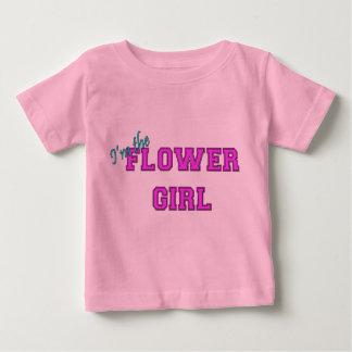 Je suis la demoiselle de honneur t-shirt pour bébé