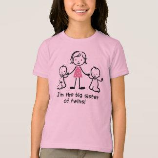 Je suis la grande soeur des t-shrits de jumeaux t-shirt