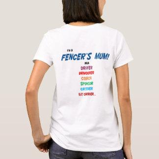 Je suis la maman d'un escrimeur ! T-shirt, dames T-shirt