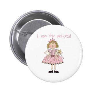 Je suis la princesse badges