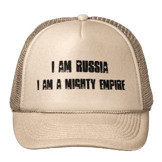 Je suis la Russie que je suis un empire puissant Casquettes