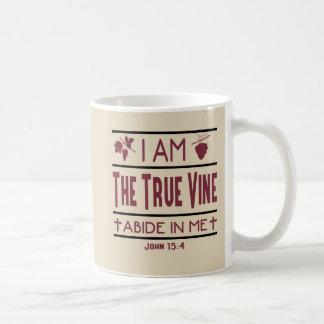 Je suis la tasse de café chrétienne de véritable