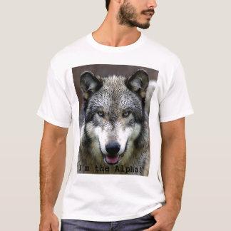 Je suis l'alpha ! t-shirt