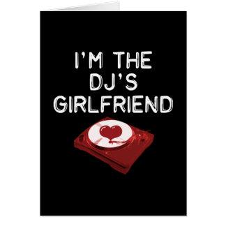 Je suis l'amie Du DJ Cartes