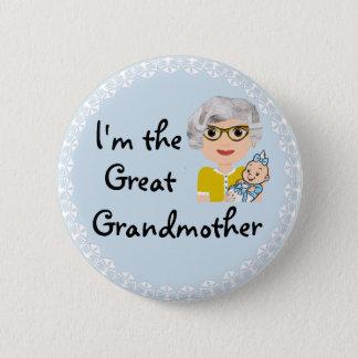 Je suis l'arrière grand-mère pin's