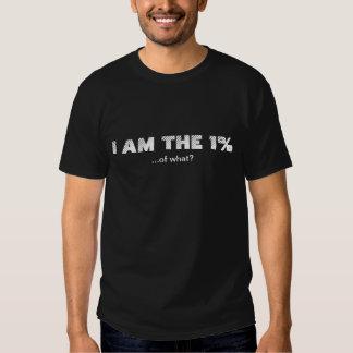 Je suis le 1% t-shirts