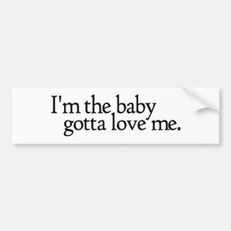 Je suis le bébé ai obtenu de m'aimer adhésifs pour voiture