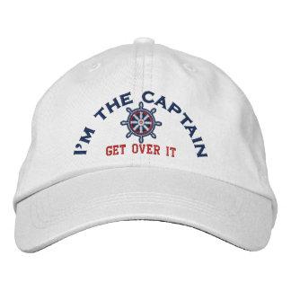 Je suis le capitaine Get Over It Wheel Casquette Brodée