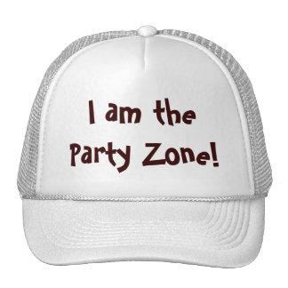 Je suis le casquette de zone de partie