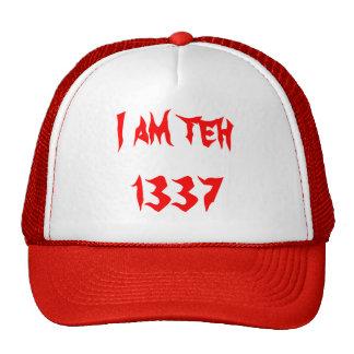 Je suis le chapeau 1337 casquette de camionneur