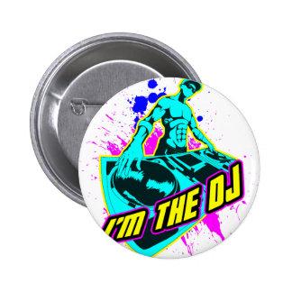 Je suis le DJ Pin's Avec Agrafe
