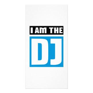 Je suis le DJ Cartes Avec Photo
