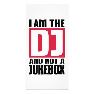 Je suis le DJ pas un juke-box Photocarte Personnalisée
