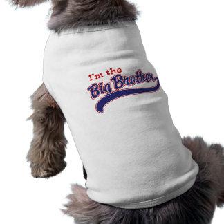 Je suis le frère t-shirt pour chien