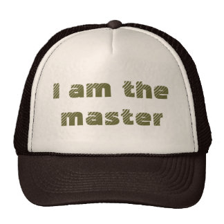 Je suis le maître casquette de camionneur