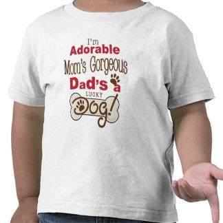 Je suis le papa magnifique de la maman adorable es t-shirts