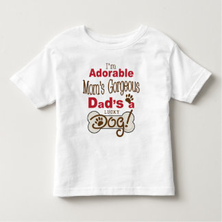 Je suis le papa magnifique de la maman adorable t-shirt pour les tous petits