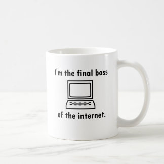 Je suis le patron final de l'Internet Mug