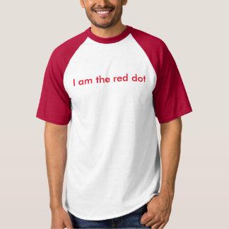 Je suis le point rouge, ils suis le chat t-shirt
