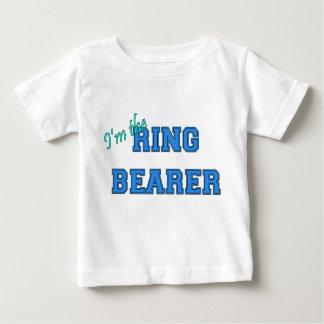 Je suis le porteur d'alliances t-shirt pour bébé