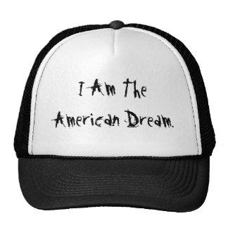 Je suis le rêve américain casquette de camionneur