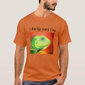 Je suis le Roi T-Shirt de lézard