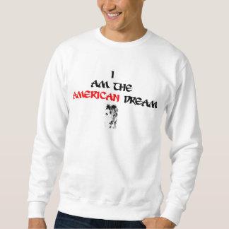Je suis le sweatshirt de rêve américain