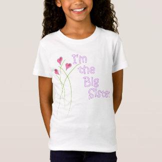 Je suis le T-shirt de grande soeur