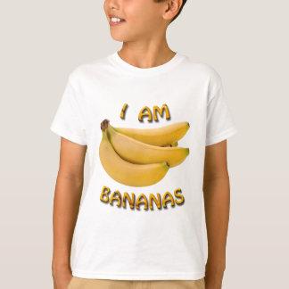 Je suis le T-shirt de l'enfant de bananes