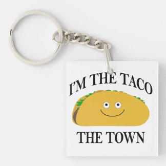 Je suis le taco la ville porte-clés