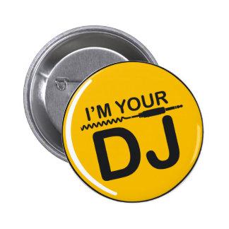 Je suis le votre DJ Pin's