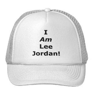 JE SUIS Lee Jordanie ! Casquettes De Camionneur