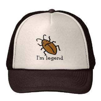 Je suis légende ! casquette de camionneur