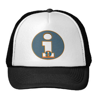 Je suis les neuf 9èmes cadeaux d'anniversaire casquette trucker