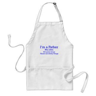 Je suis les travaux d'un père drôle de père pour l tabliers