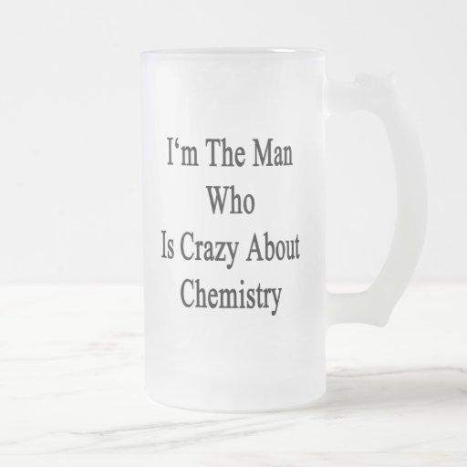 Je suis l'homme qui est fou au sujet de la chimie tasses à café