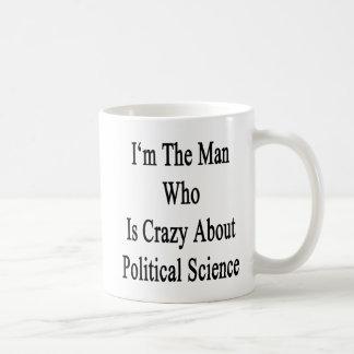 Je suis l'homme qui est fou au sujet de la science tasses à café