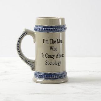 Je suis l'homme qui est fou au sujet de la sociolo mug